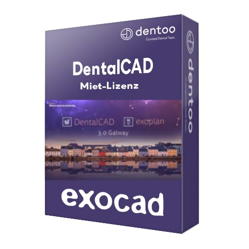 exocad DentalCAD 3.0 Galway Flex Lizenz (Miete)