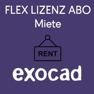 exocad Flex Lizenz (Miete)