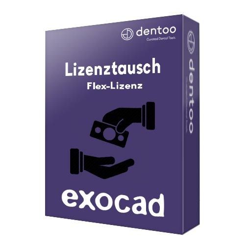 exocad lizenztausch flex lizenz