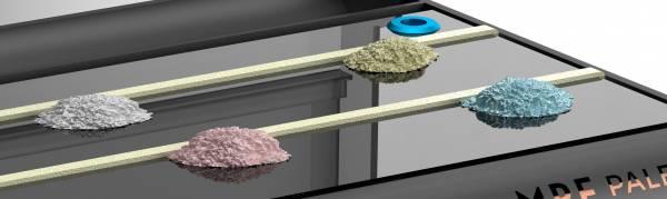 MPF Absorbtionsstreifen für Anmischplatte