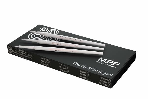 MPF Zirconia STAIN 3 in 1 Brush Kit