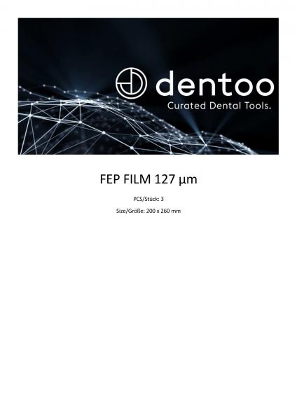 FEP 127 Premium – 3 sheets (200x260 mm)