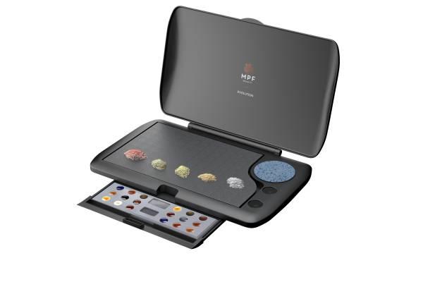 Evolution Master Keramikanmischplatte, schwarz