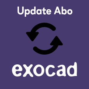 Abo exocad Update-Vertrag