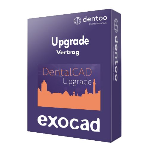 exocad dentalcad upgrade vertrag