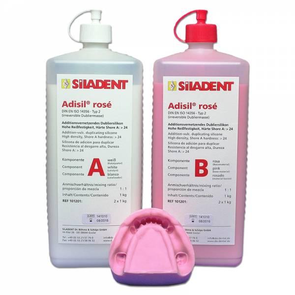 Adisil® rosé 1 : 1 (2 x 6,0 kg / große Öffnung)
