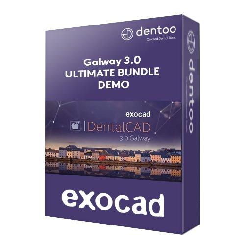 exocad DentalCAD Galway 3.0 Ultimate Bundle 4 Wochen lang testen