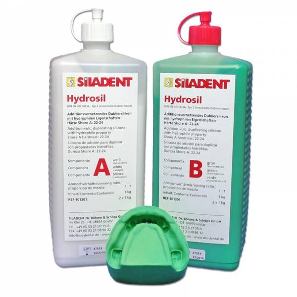 Hydrosil 1 : 1 (2 x 6,0 kg / große Öffnung)