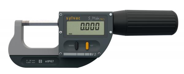 SYLVAC S_Mike PRO Digitale Bügelmessschraube