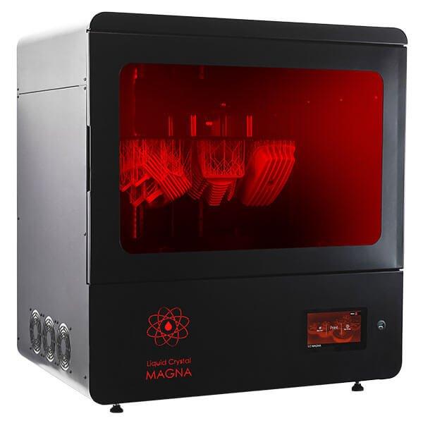 Photocentric 3D Liquid Crystal Magna