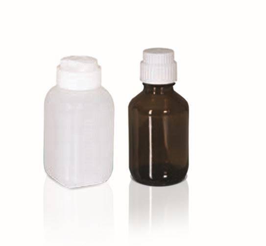 PE-Dose und Glasflasche - Komplettset