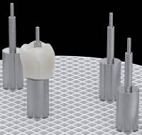 MPF Spezielle Edelstahl-Pins für Implantatteile Kronen und Brücken