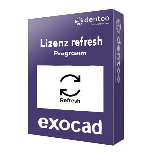 exocad Lizenz refresh program