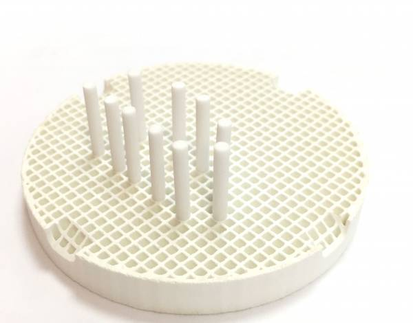 Dentoo Honeycomb Tray with 10 Ceramic Pins